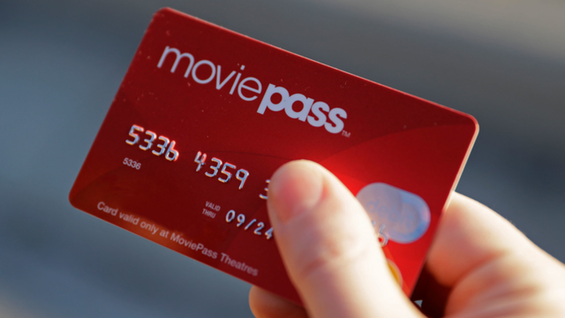 A MoviePass card. Photo by AP
