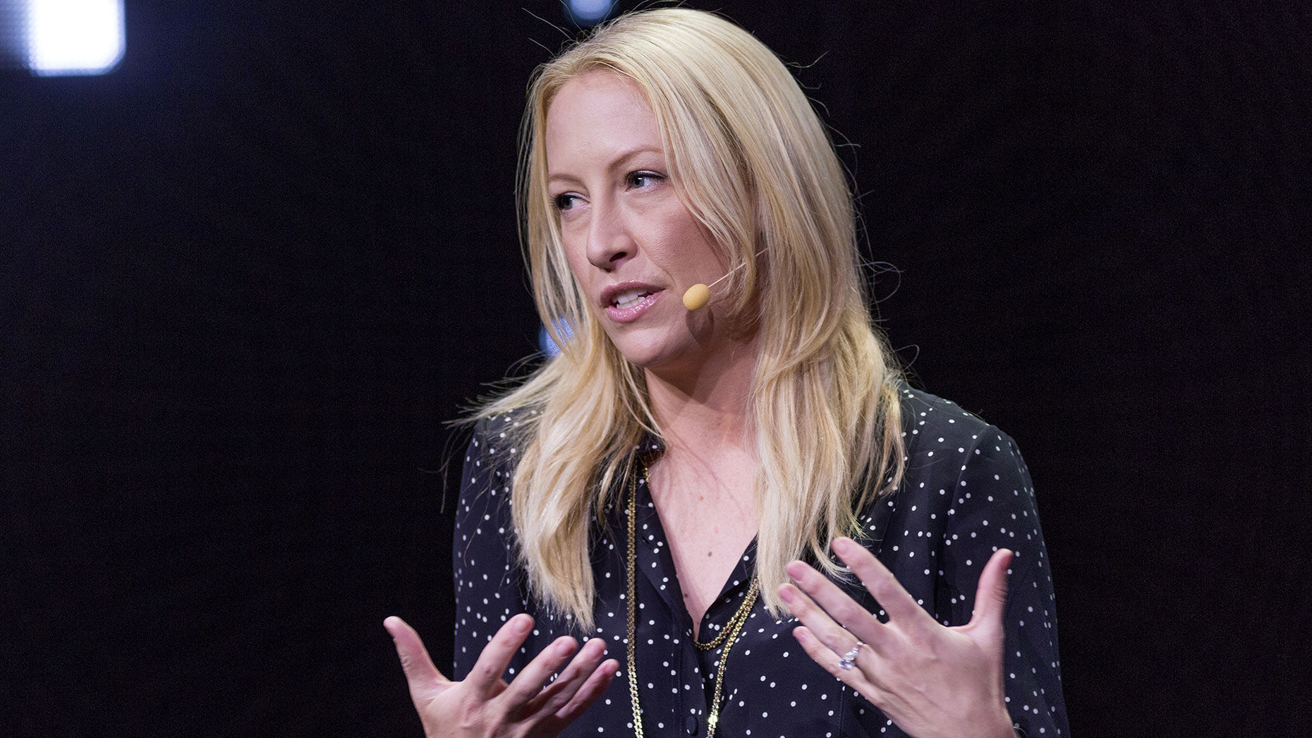 Eventbrite CEO Julia Hartz. Photo: AP