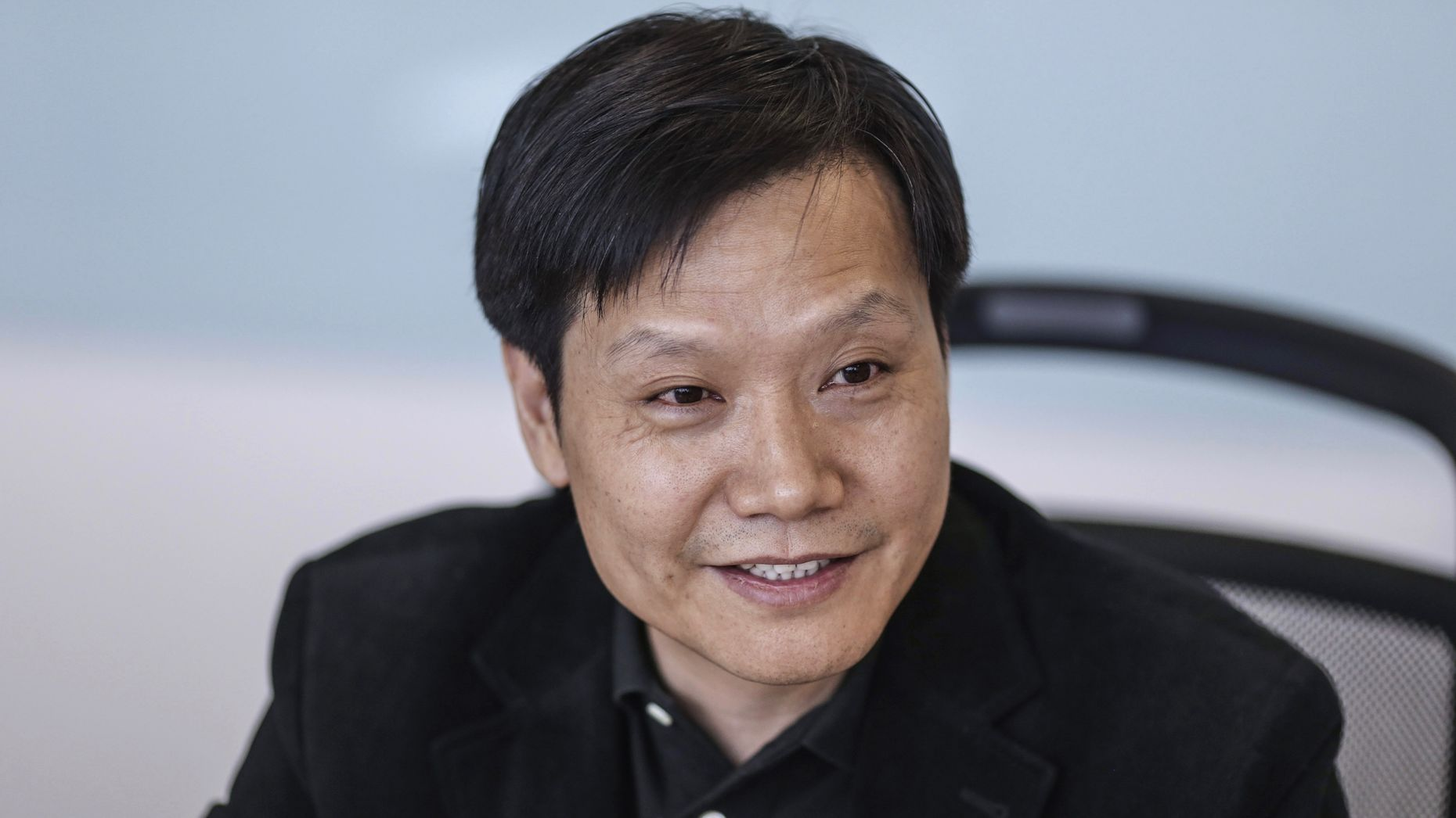 Xiaomi chairman and CEO Lei Jun. Photo by Bloomberg