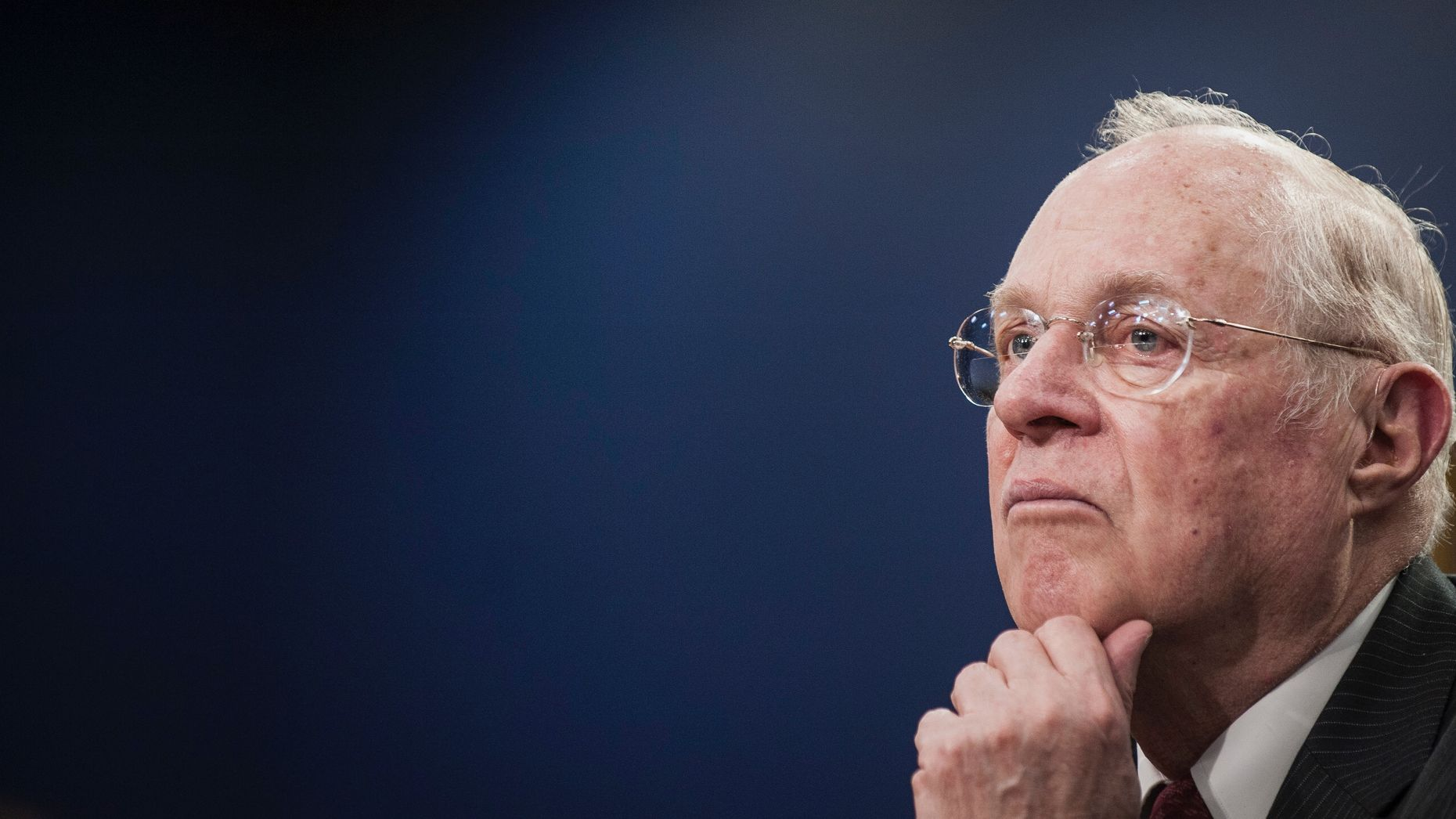 Supreme Court Justice Kennedy. Photo by Bloomberg.