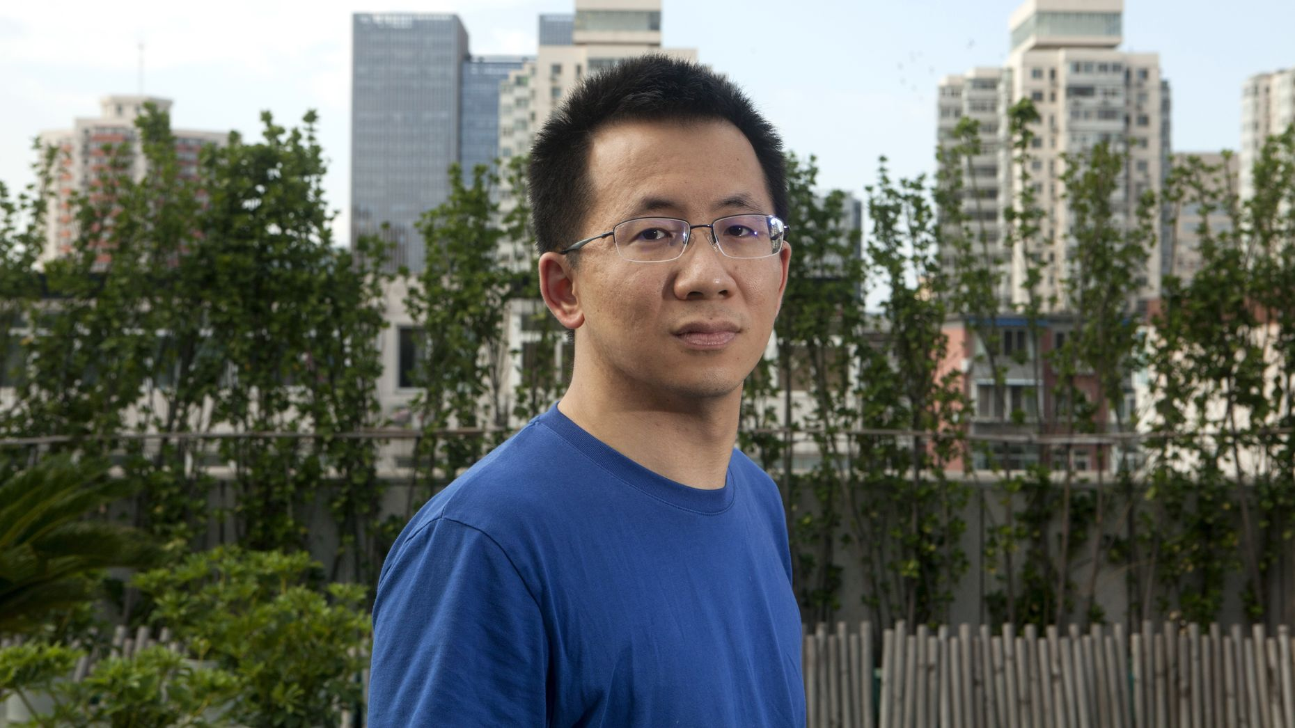 Bytedance CEO  Zhang Yiming. Photo by Bloomberg.