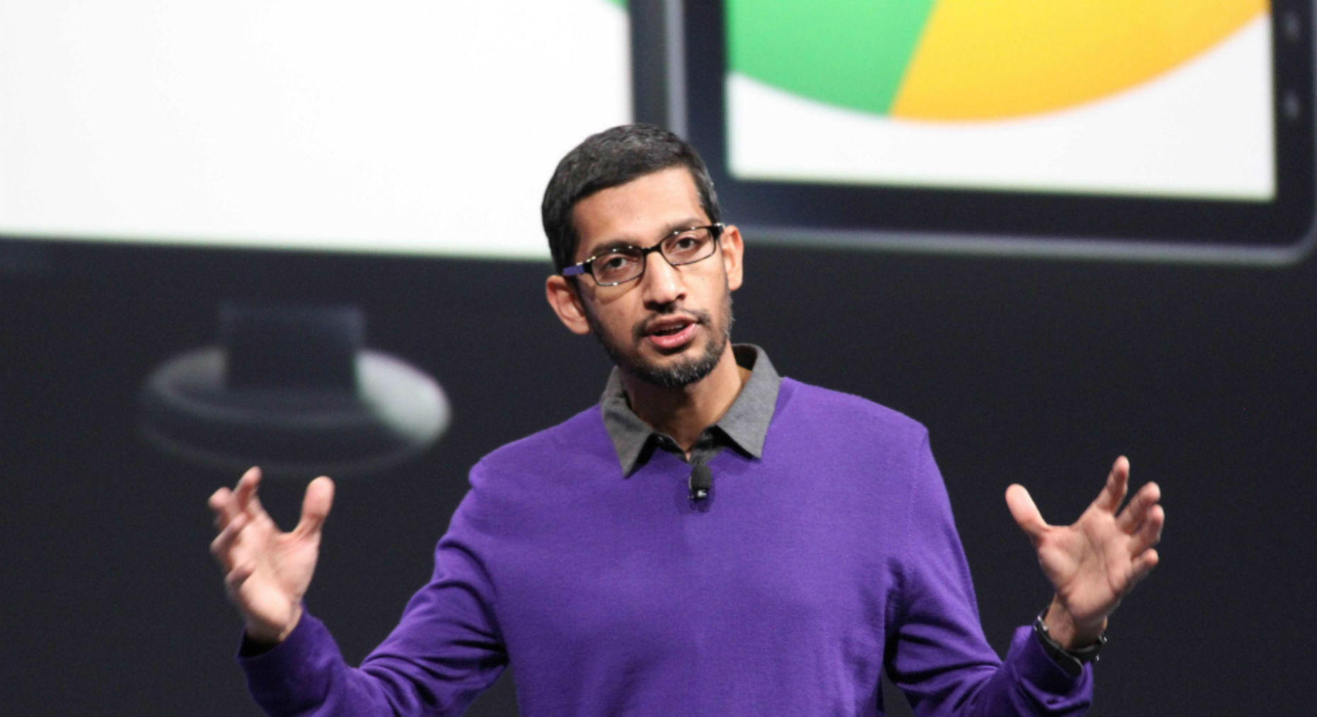 Google executive Sundar Pichai. Photo by Associated Press.
