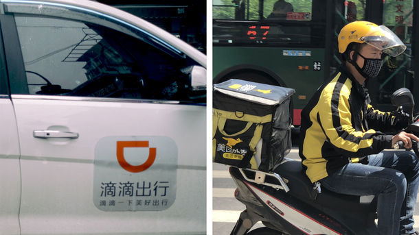 Didi vs. Meituan: China's Biggest Tech Battle Heats Up
