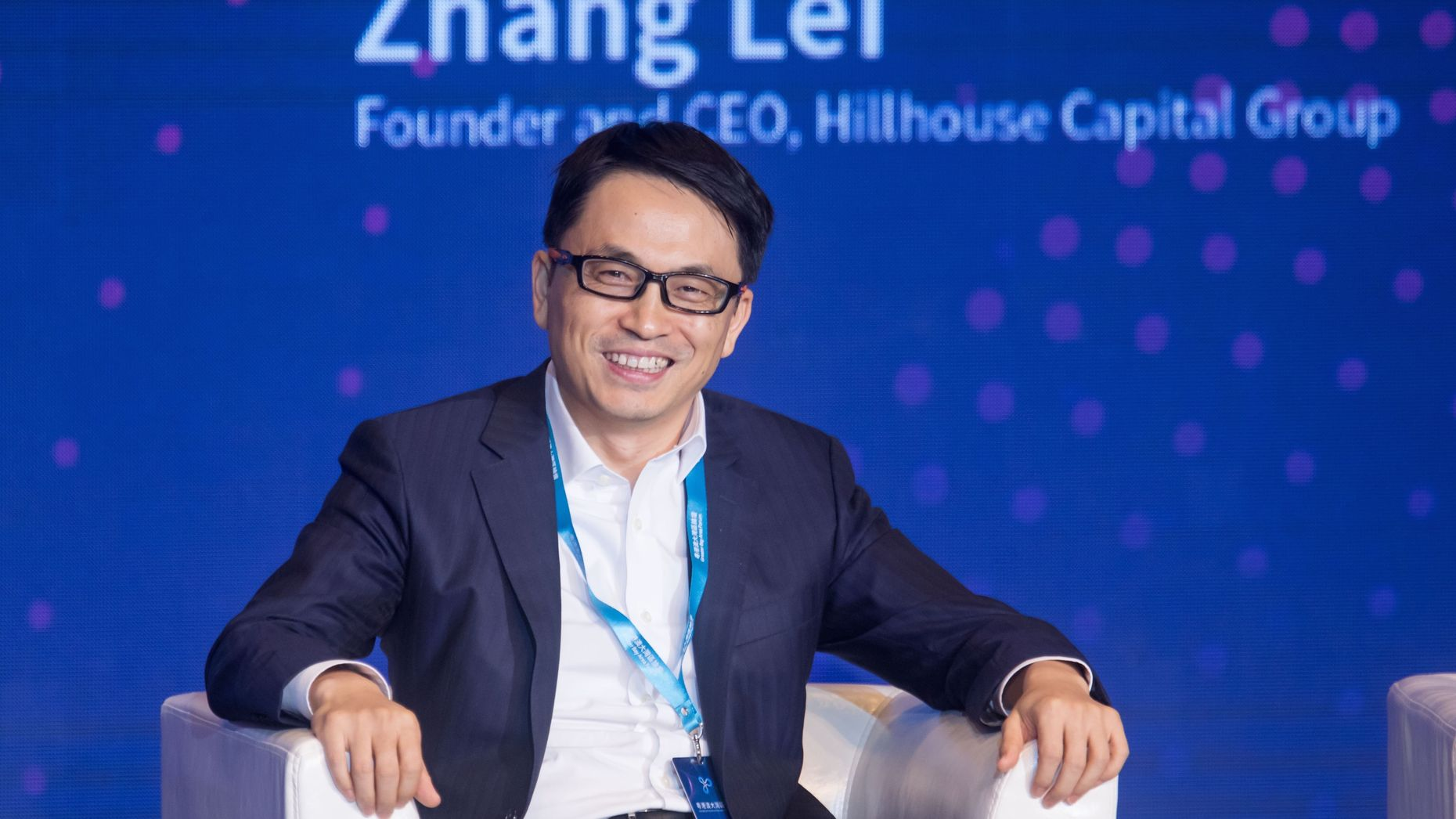 Hillhouse founder Zhang Lei. Photo by Bloomberg.