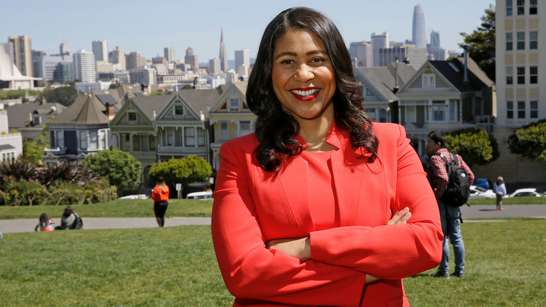 San Francisco mayoral candidate and Board of Supervisors President London Breed. Photo: AP