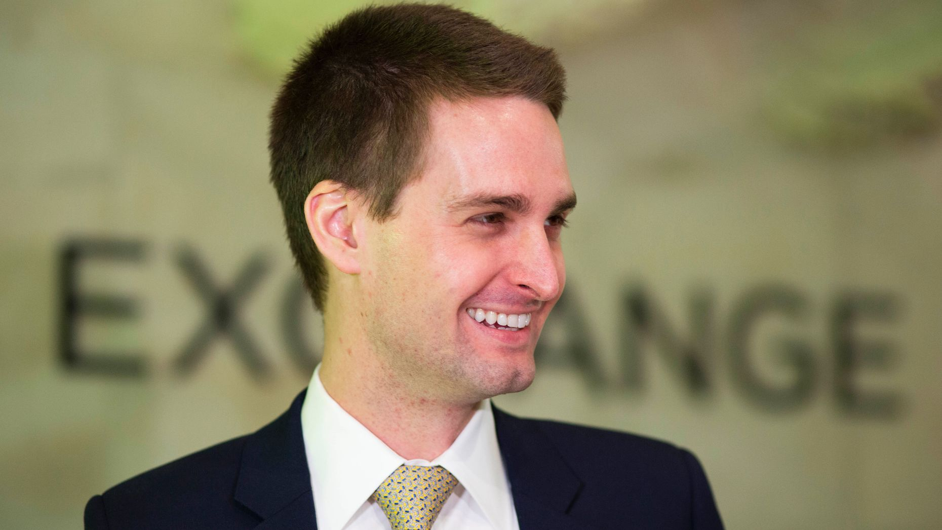 Snap CEO Evan Spiegel. Photo by AP