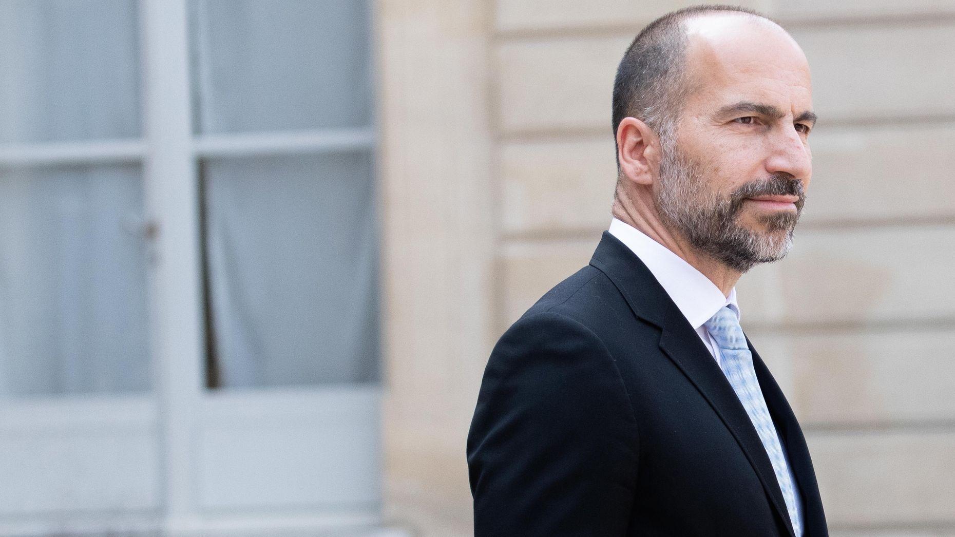Uber CEO Dara Khosrowshahi. Photo by Bloomberg.
