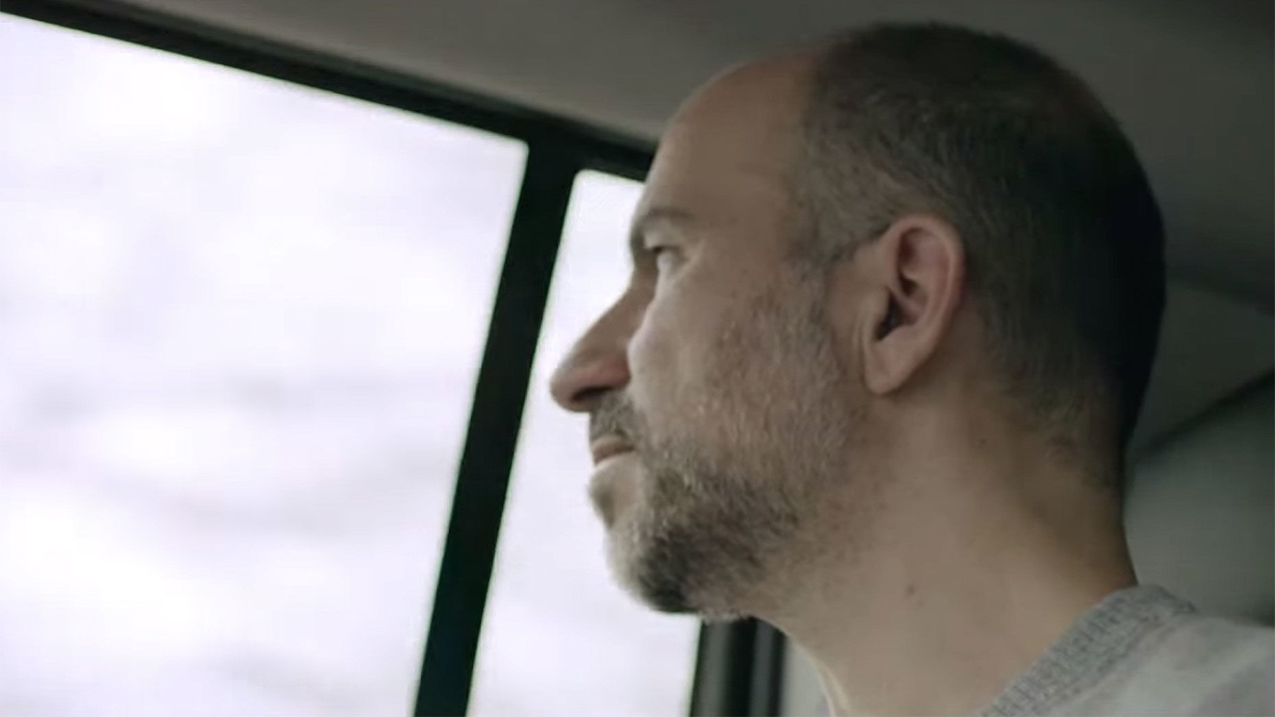 Uber CEO Dara Khosrowshahi, appearing in one of the company's new ads.