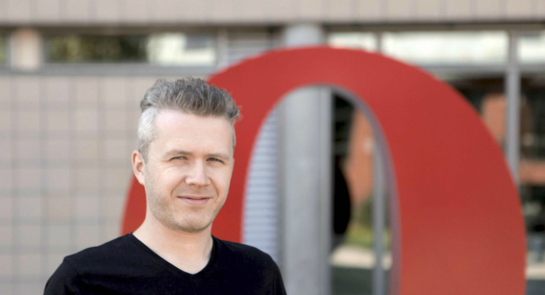 Andreas Bovens of Opera Software. (Credit: Opera)
