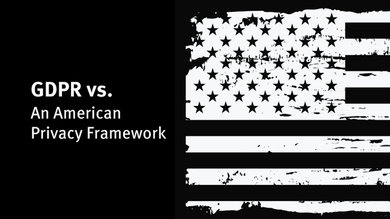 It's Time for an American Internet Privacy Framework