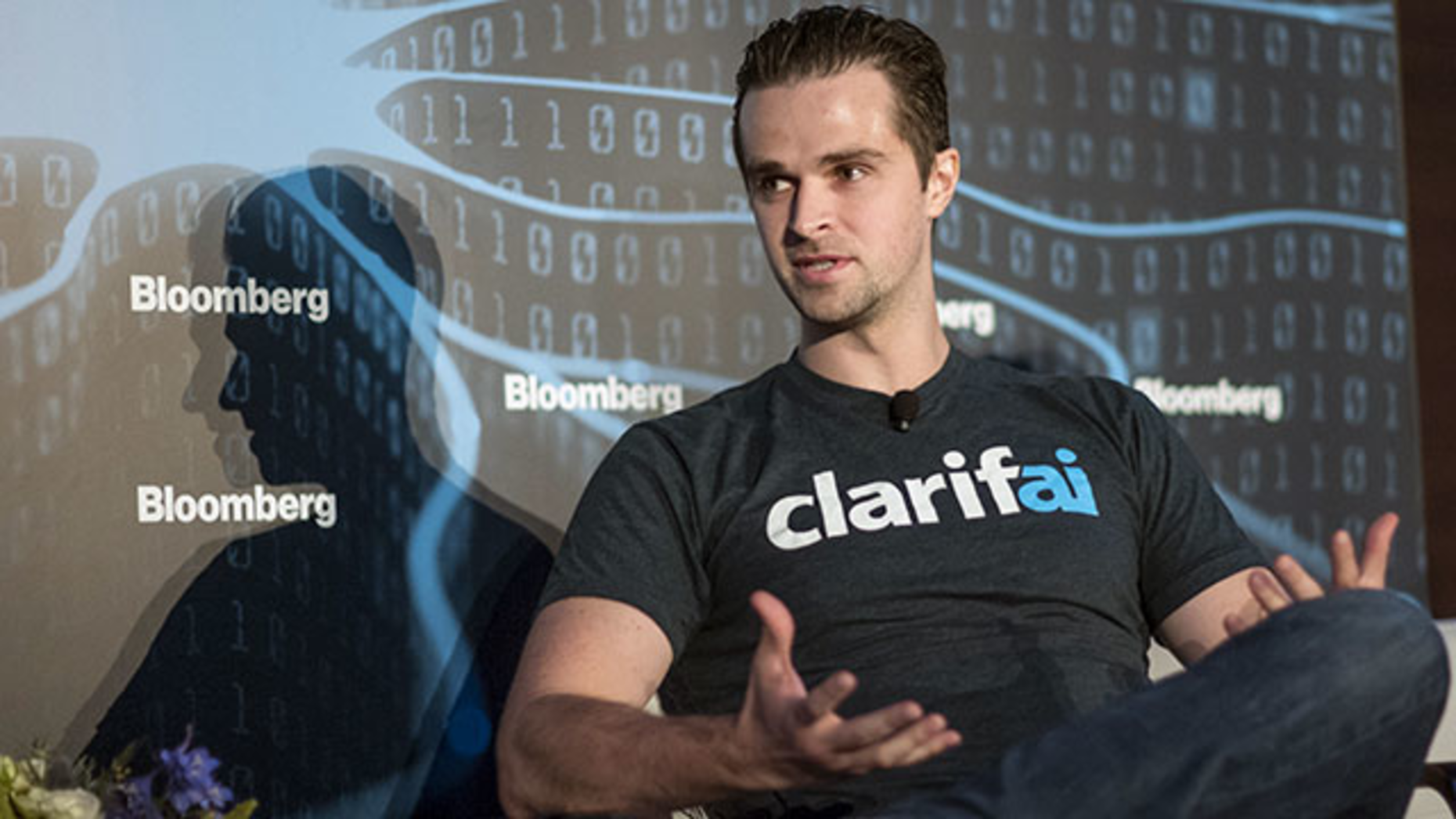 Matt Zeiler, CEO of Clarifai. Photo: Bloomberg