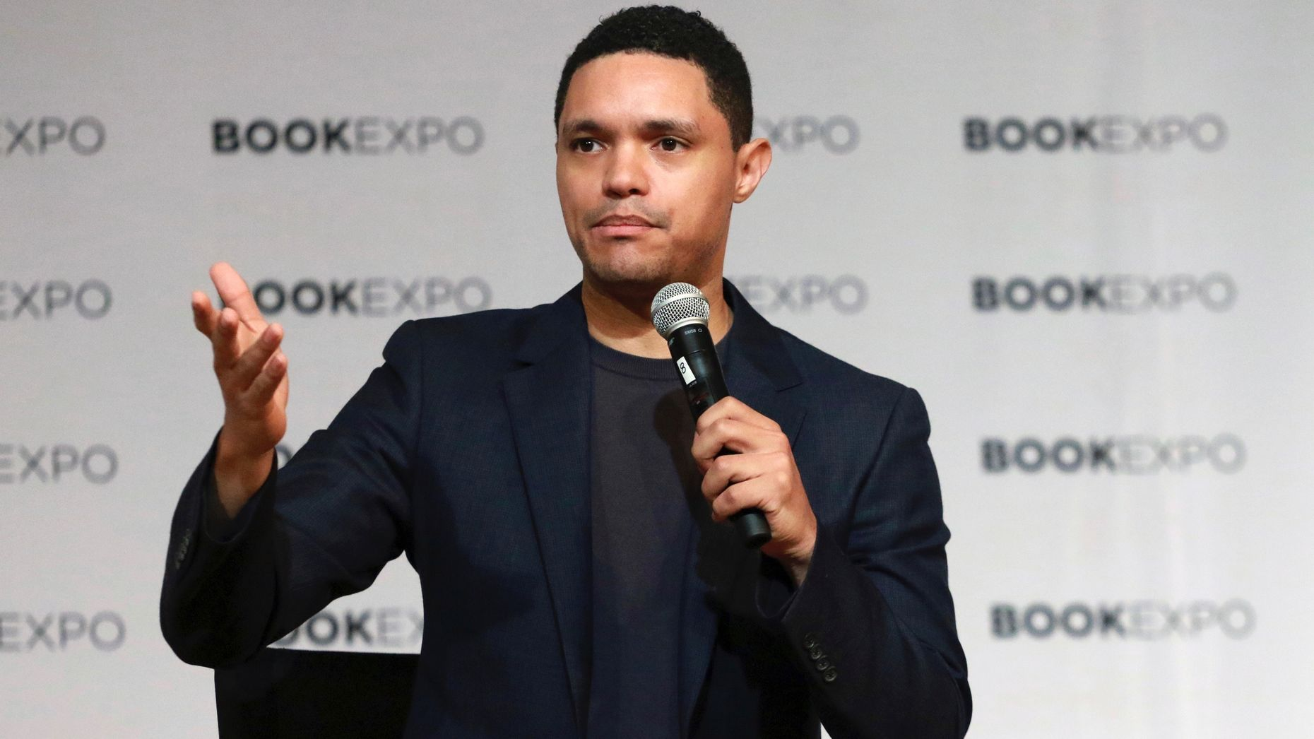 Daily Show host Trevor Noah, whose Comedy Central show airs on Philo. Photo by AP.