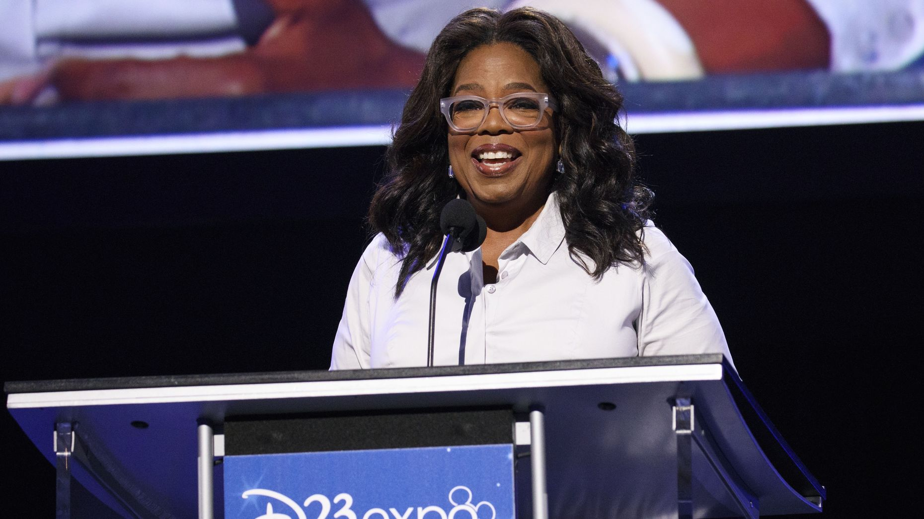 Oprah Winfrey, who has agreed to produce shows for Apple. Photo by Bloomberg.