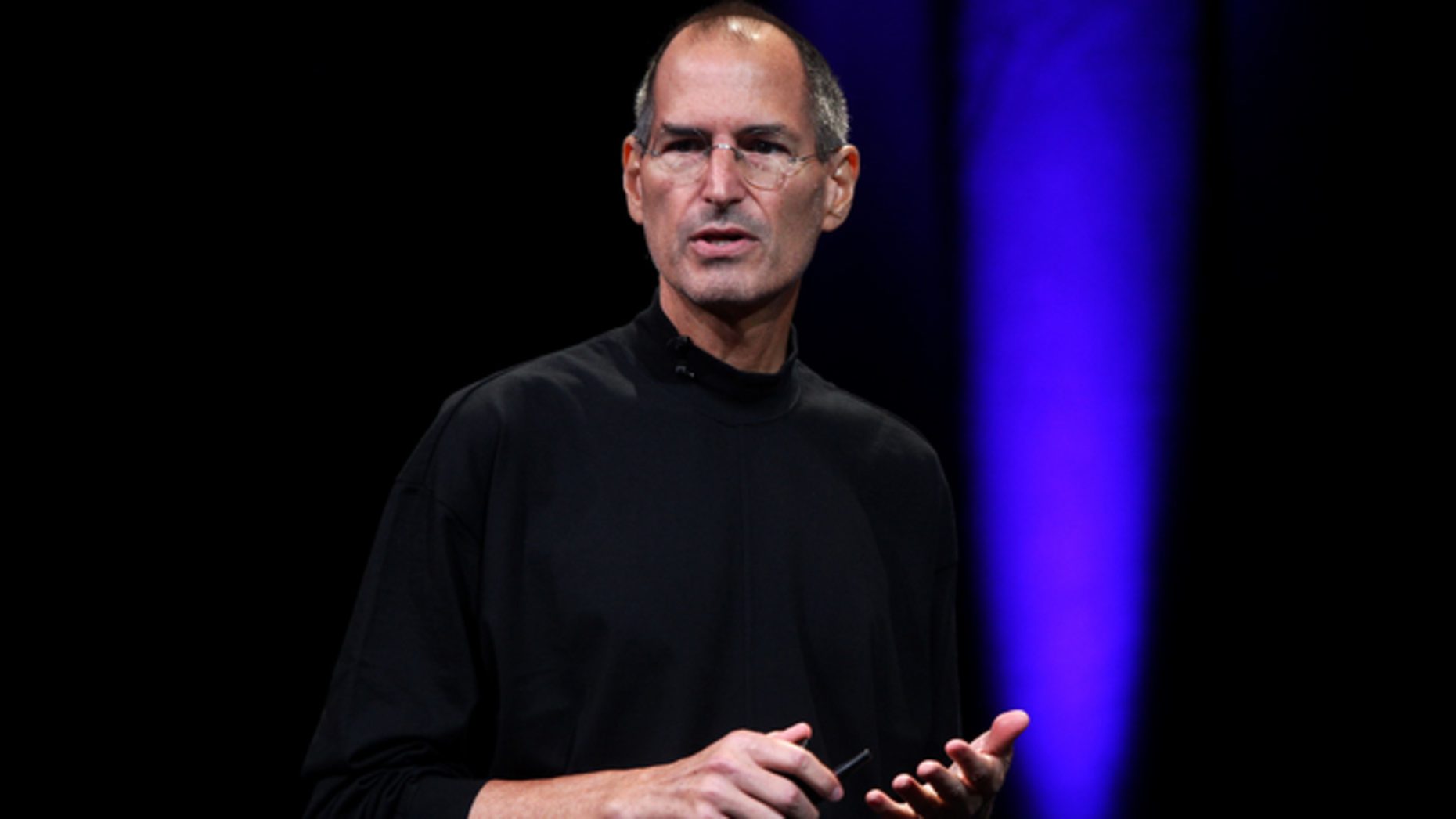 Steve Jobs in 2008. Photo by Bloomberg.