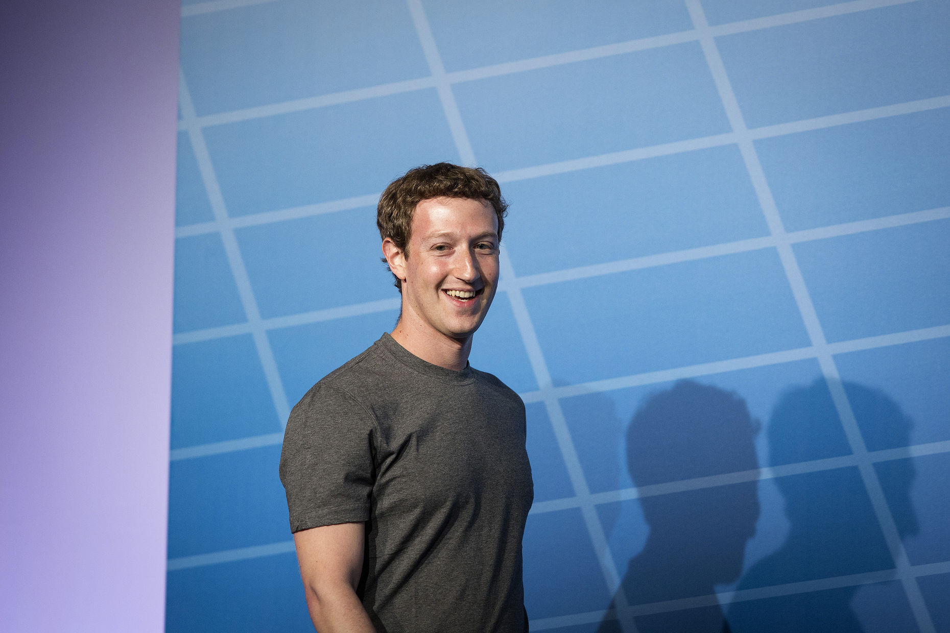 Facebook CEO Mark Zuckerberg. Photo by Bloomberg.