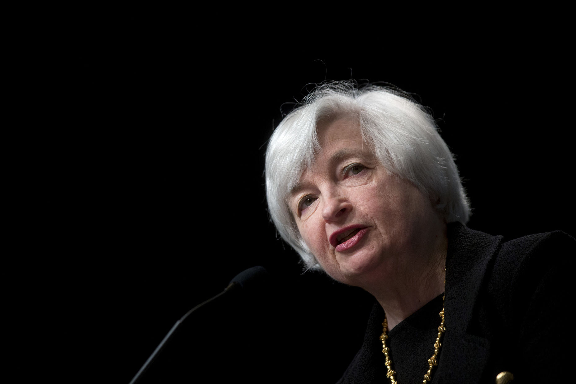 Federal Reserve Chair Janet Yellen. Photo by Bloomberg.