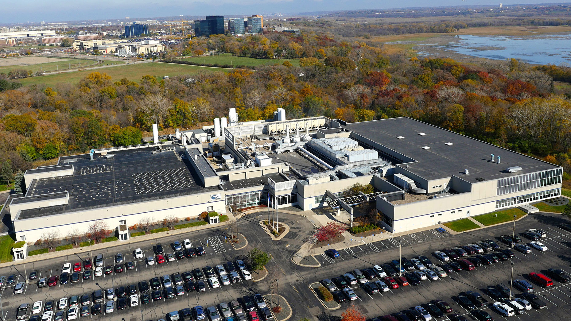SkyWater's chip factory in Bloomington, Minn. Photo by SkyWater