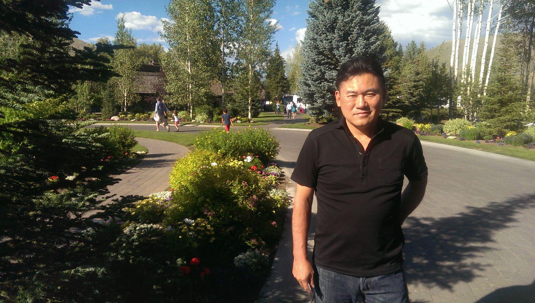 Rakuten CEO Hiroshi Mikitani at Sun Valley, Idaho, last week.