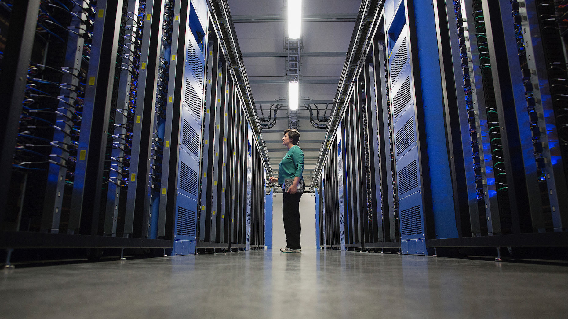 A Facebook data center in Sweden. Photo by Bloomberg
