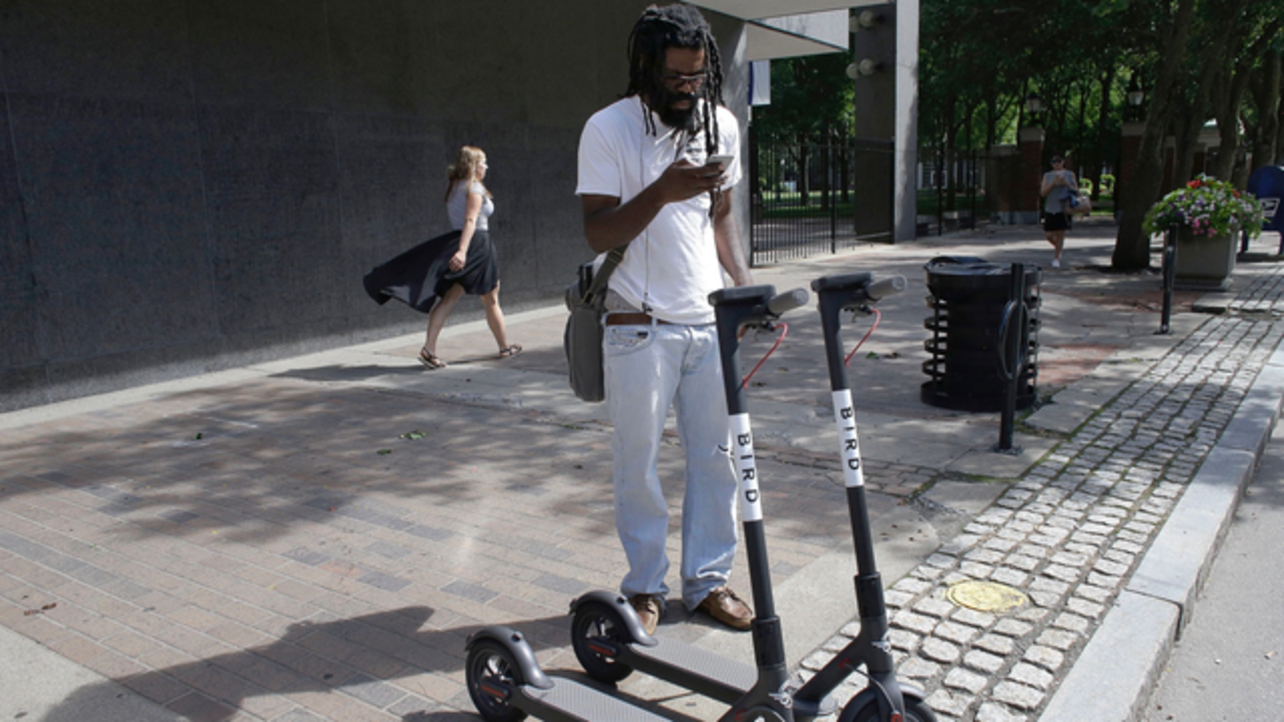 After Fast Rollout, Scooters Hit Supply Bumps