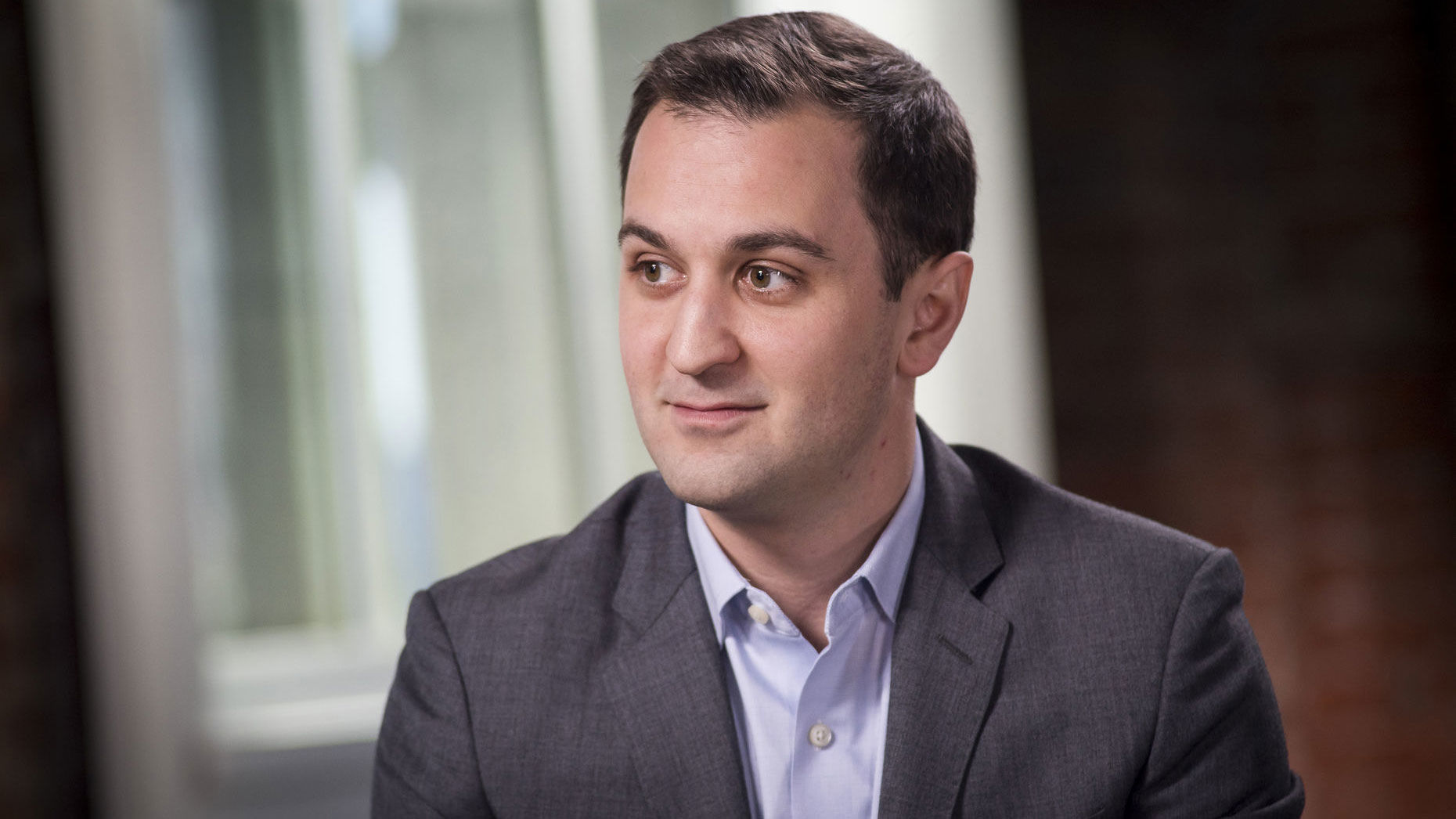 Lyft co-founder and president John Zimmer earlier this year. Photo by Bloomberg