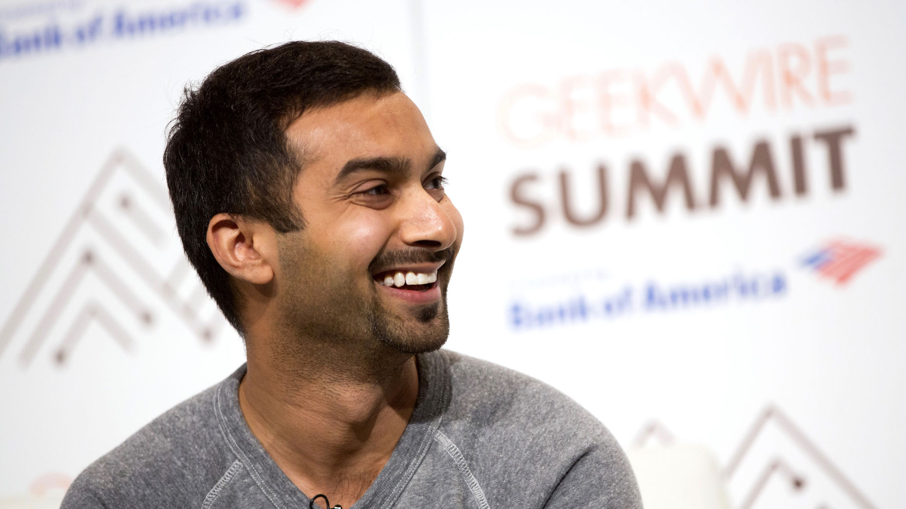 Apoorva Mehta, founder and CEO of Instacart, at an event last year. Photo by Bloomberg