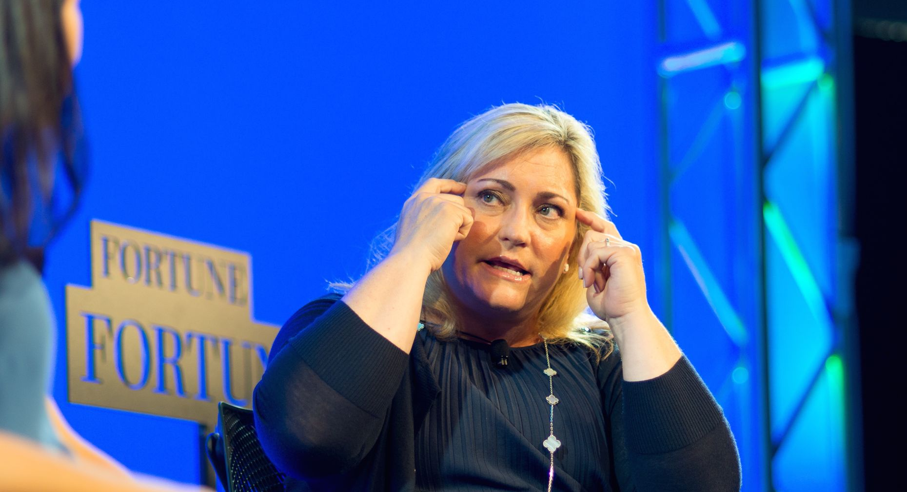 Intel President Renée James at Fortune's Brainstorm conference. Photo by Kevin Moloney.