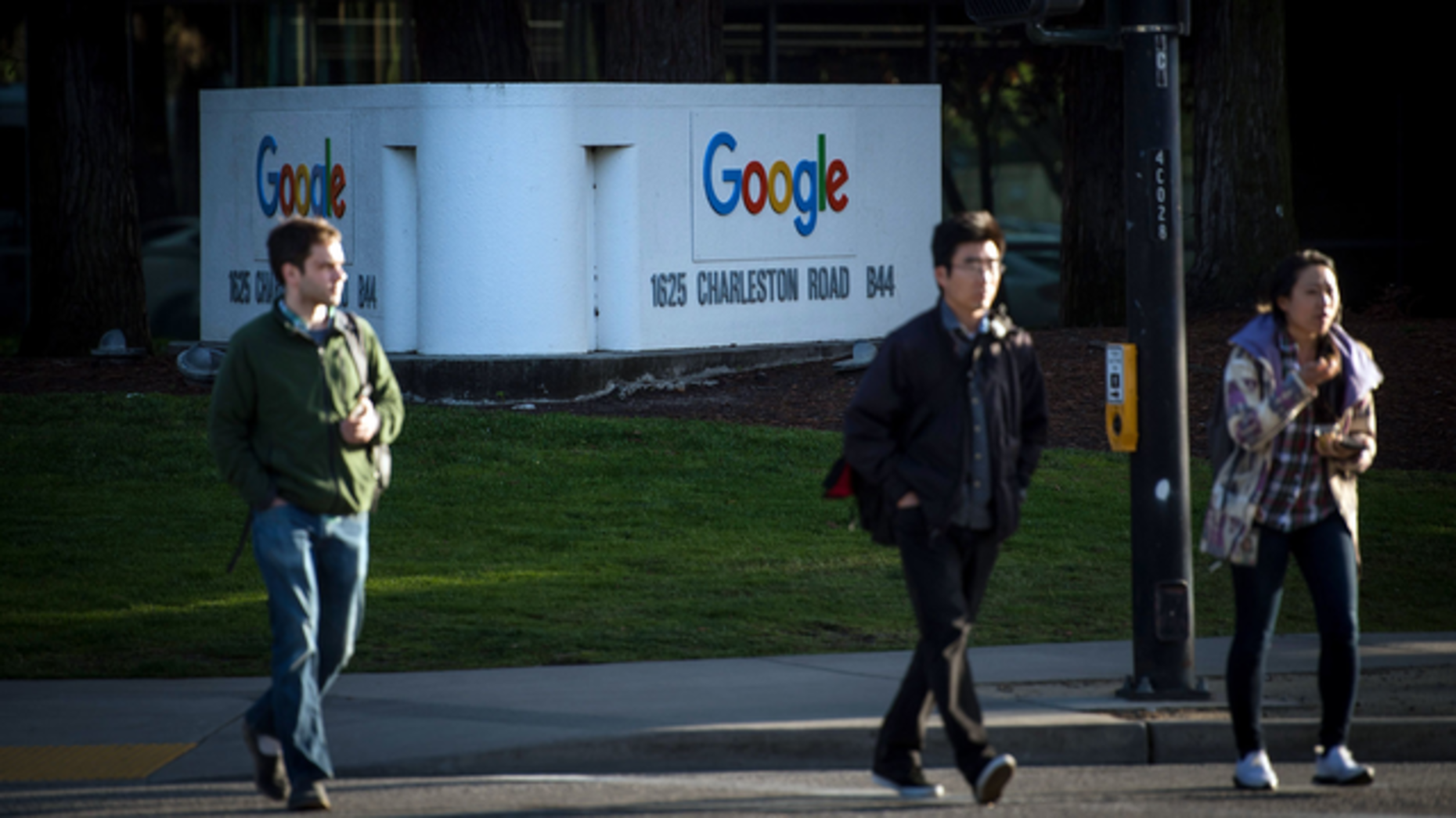 Google's campus in Mountain View, Calif. Photo by Bloomberg.