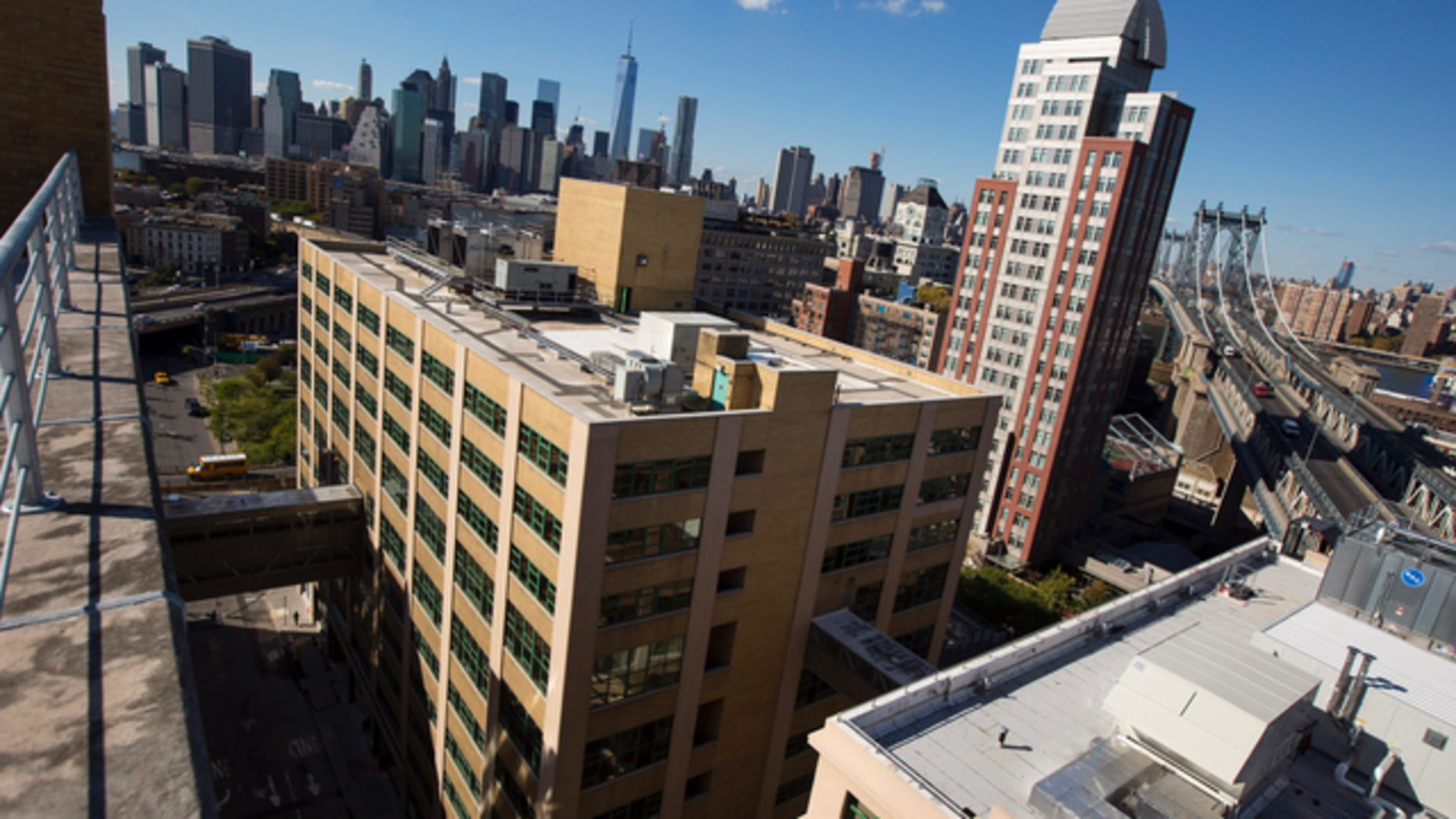 Parts of the Brooklyn neighborhood of Dumbo have been designated as opportunity zones. Photo: Bloomberg