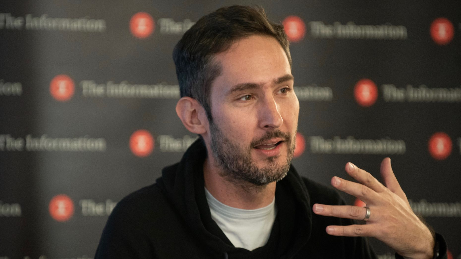 Former Instagram CEO Kevin Systrom on Thursday. Photo by Erin Beach