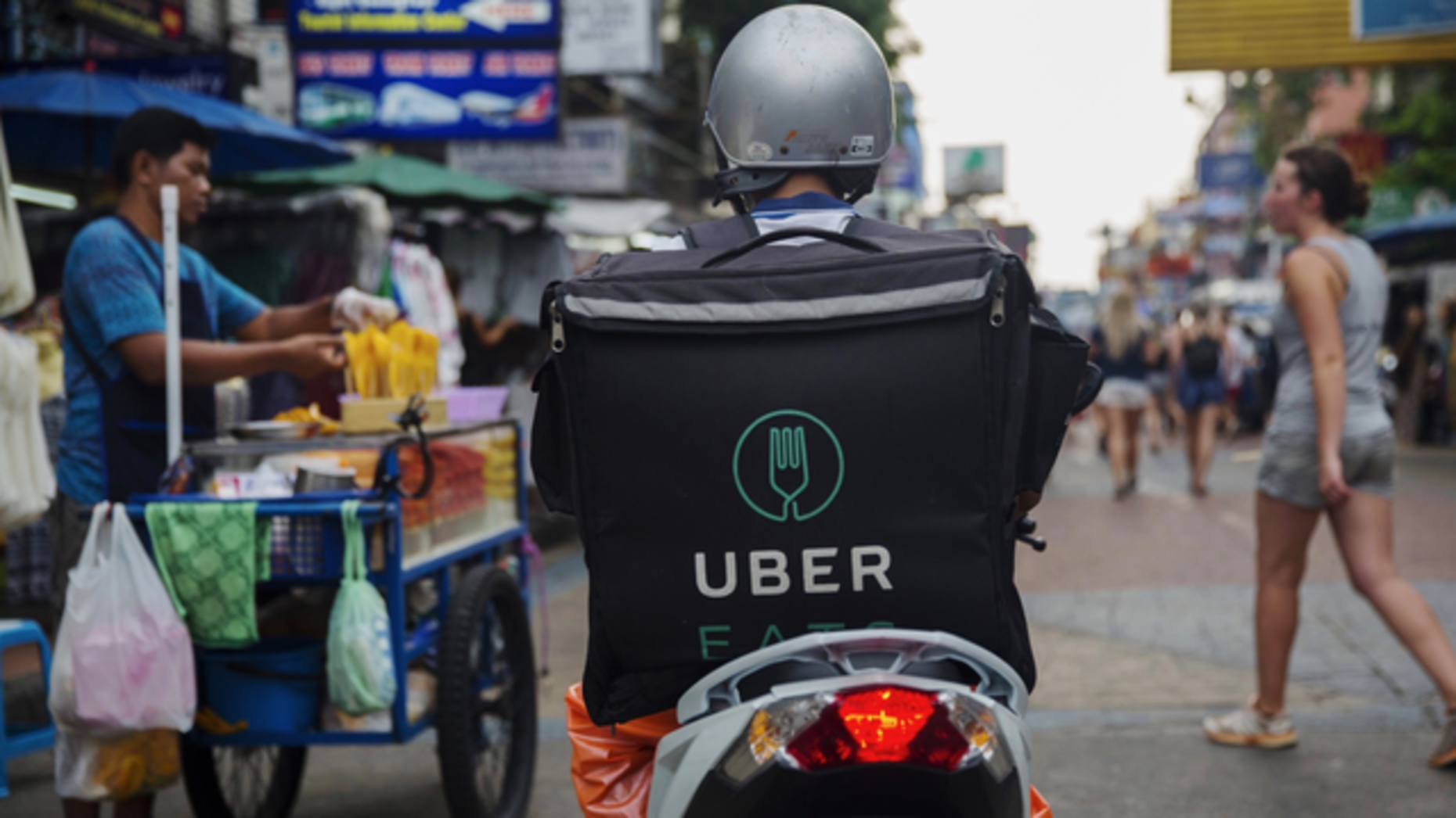 Uber Sees Strong Growth in Asia's Food Delivery Market