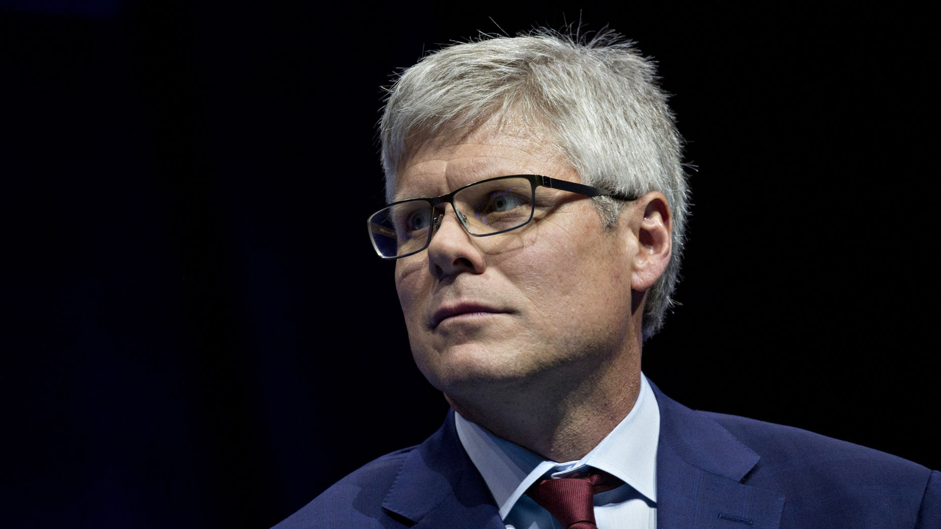 Qualcomm CEO Steve Mollenkopf  at an event in Washington, D.C., U.S., on Thursday. Photo by Bloomberg