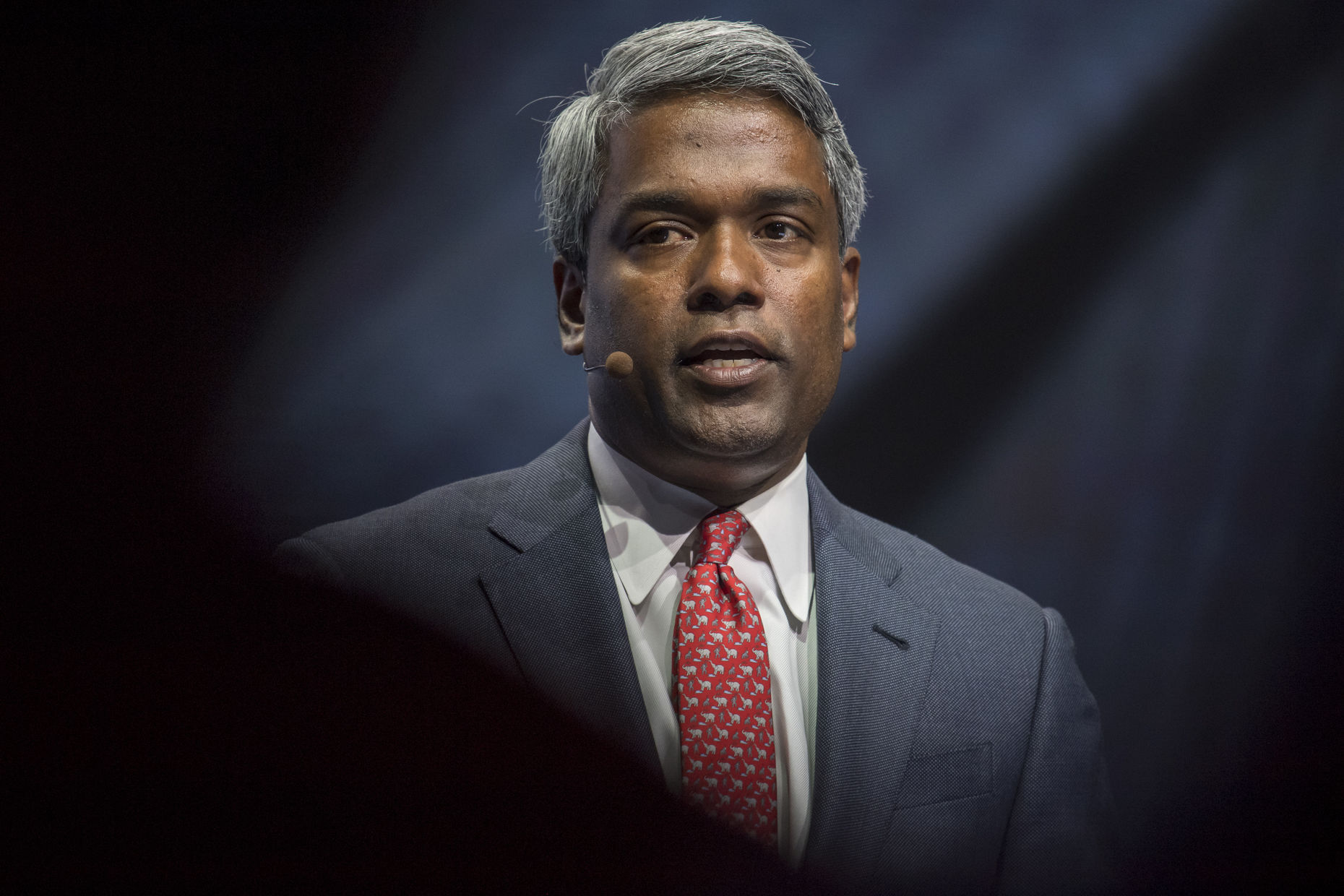Google Cloud CEO Thomas Kurian, shown in 2016, when he was Oracle's president of product development. Photo: Bloomberg