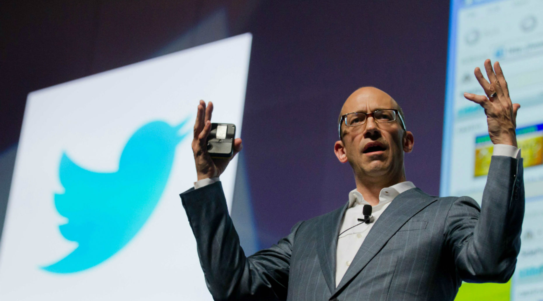 Twitter CEO Dick Costolo. Photo by Bloomberg.