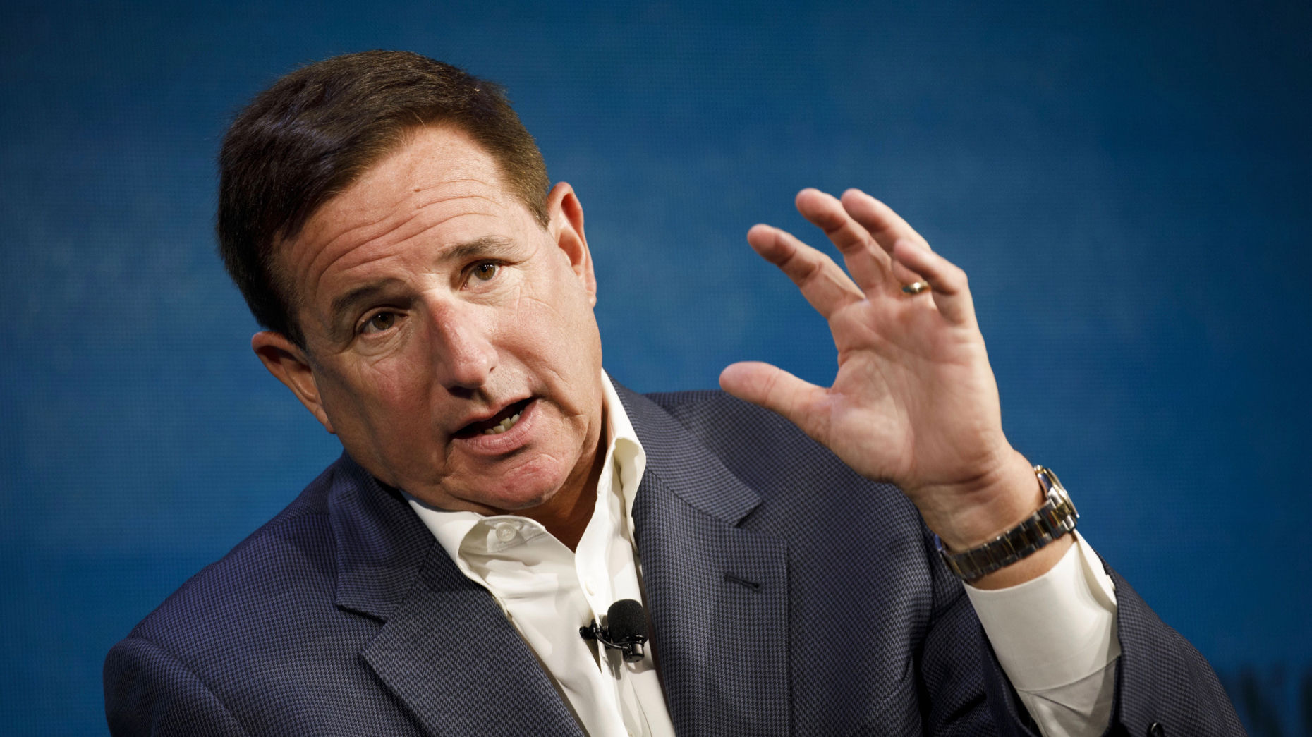 Oracle CEO Mark Hurd at an event last year. Photo by Bloomberg