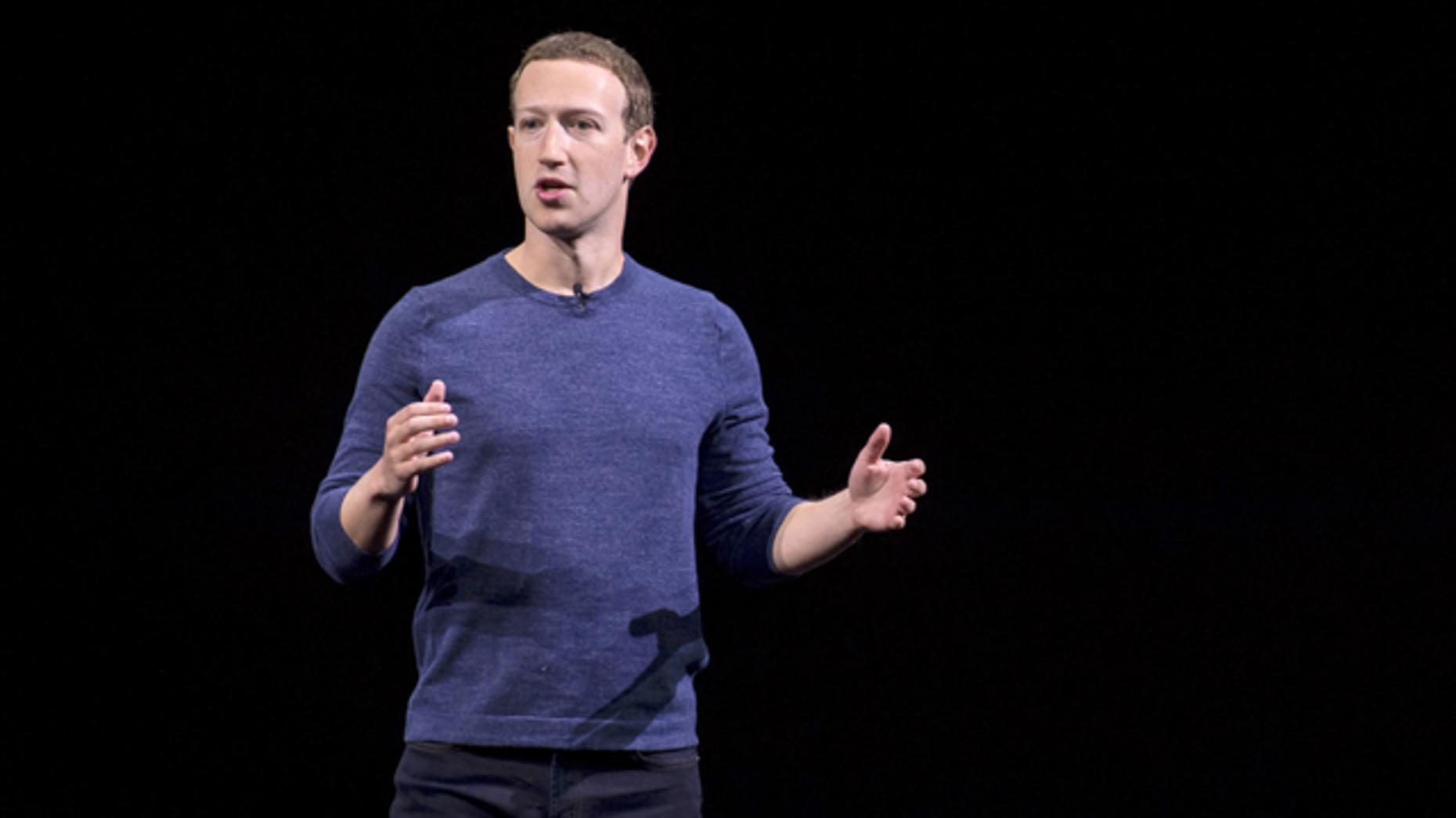 Mark Zuckerberg. Photo by Bloomberg
