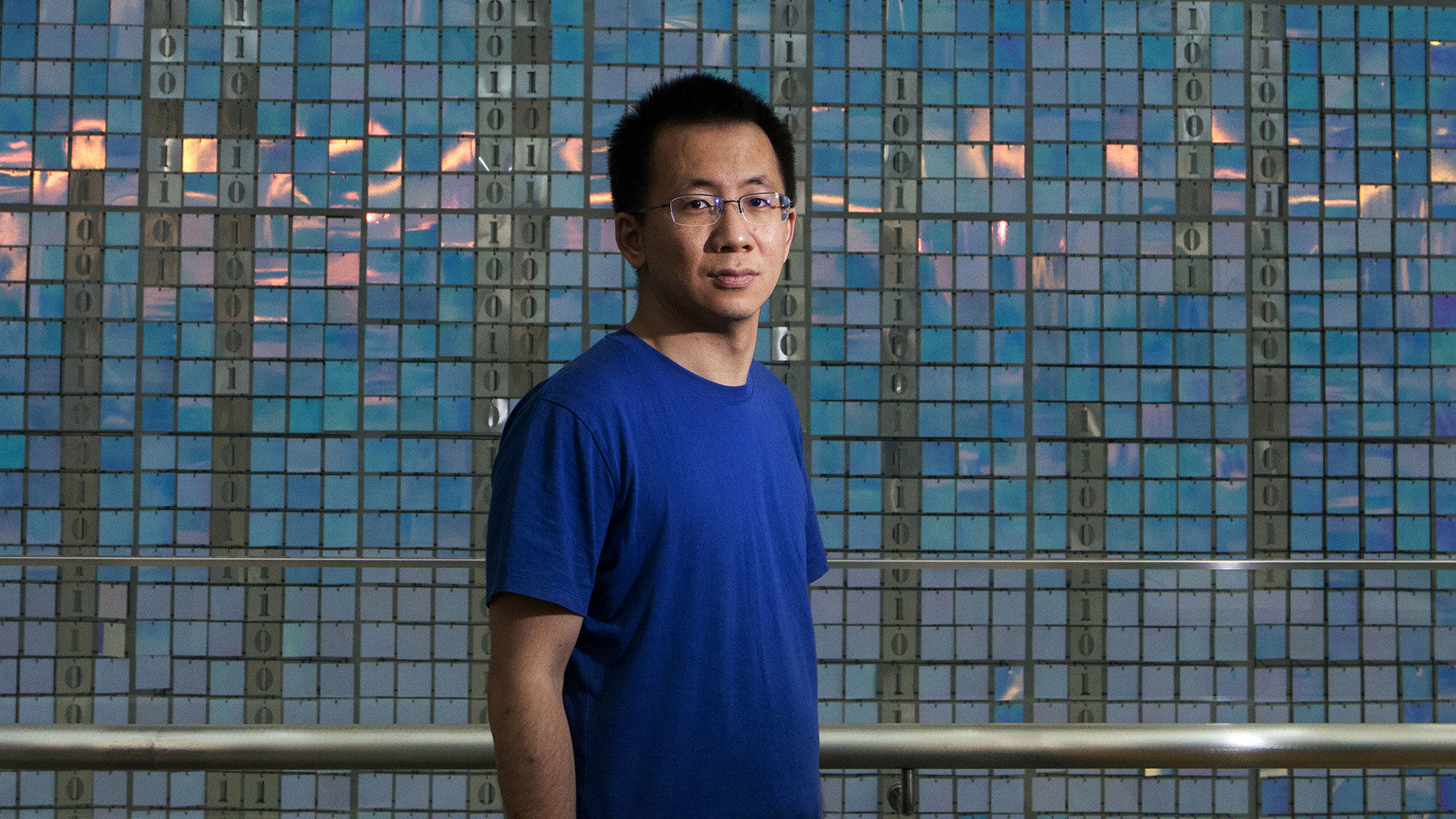 Bytedance co-founder Zhang Yiming. Photo by Bloomberg