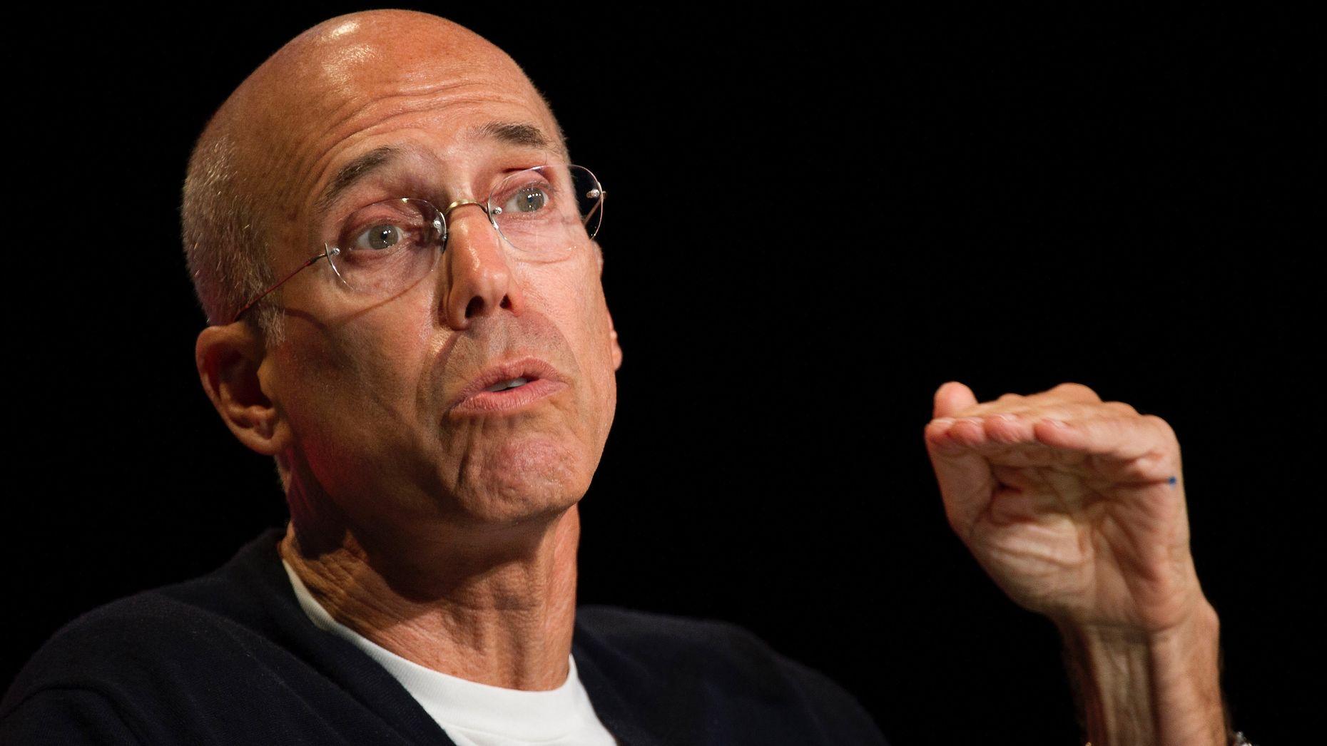Jeffrey Katzenberg. Photo by Bloomberg