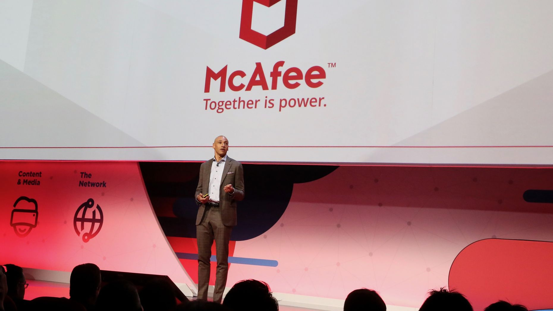 McAfee CEO Chris Young. Photo by Bloomberg