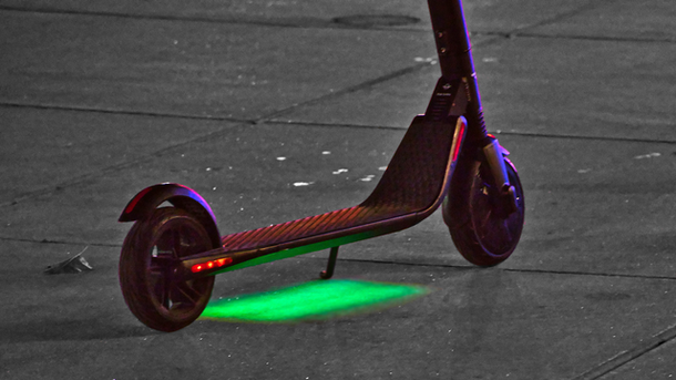 Scooters Grapple With Safety After Dark