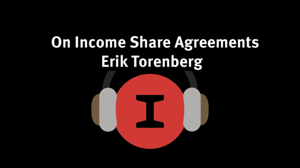 Modest Conversations: Income Share Agreements