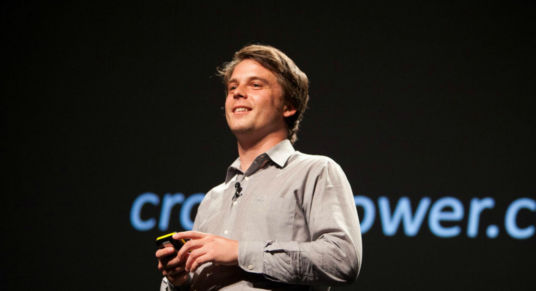 CrowdFlower CEO Lukas Biewald. Photo by Bloomberg.