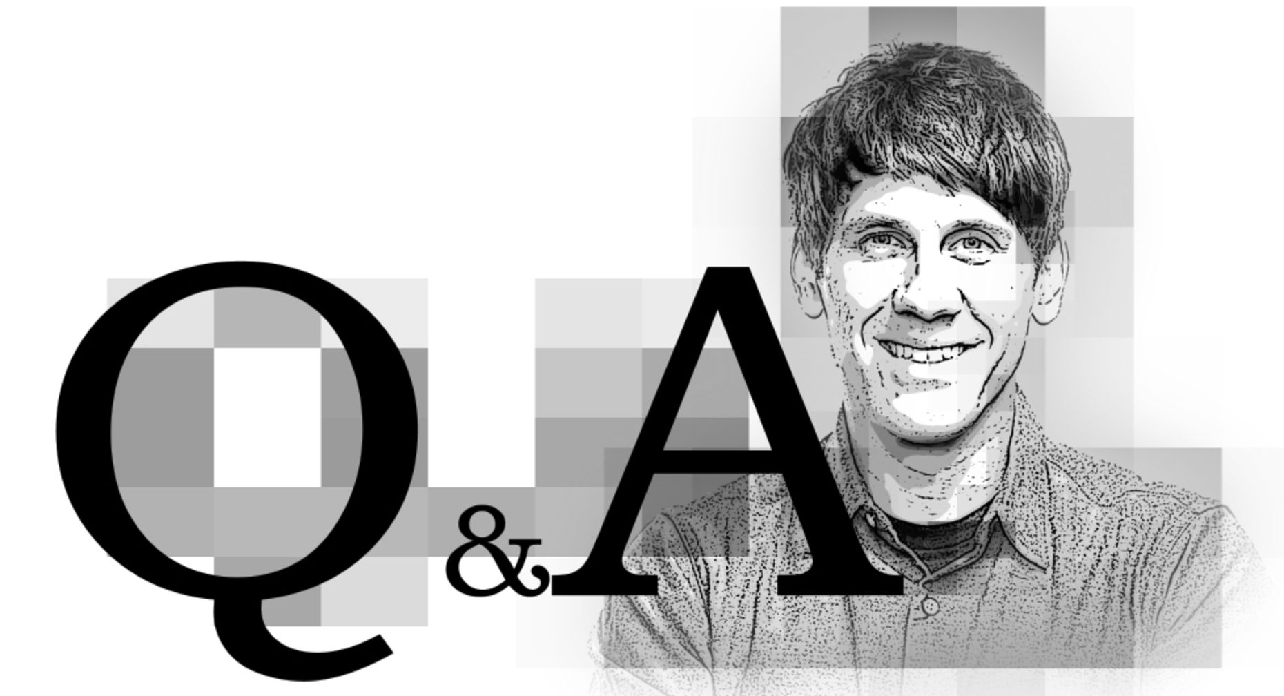 Foursquare CEO Dennis Crowley. Illustration by Matthew Vascellaro.