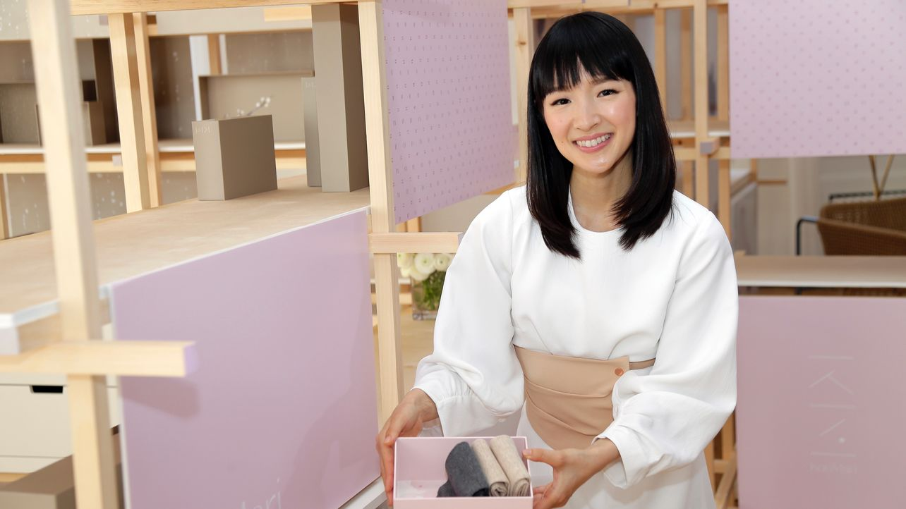 Tidy Guru Marie Kondo in VC Talks About Expansion