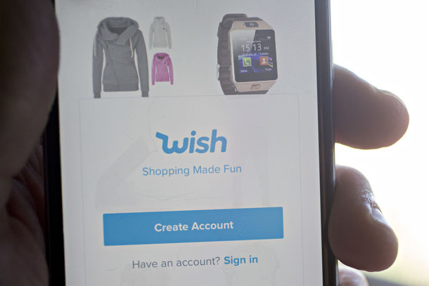 Bargain Shopping App Wish in Talks to Raise $300 Million