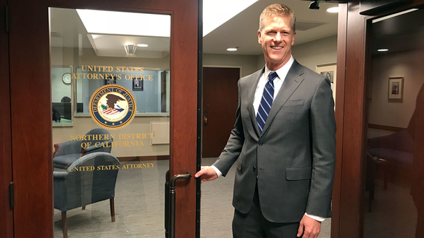 New U.S. Attorney Eyes Tougher Enforcement in Silicon Valley