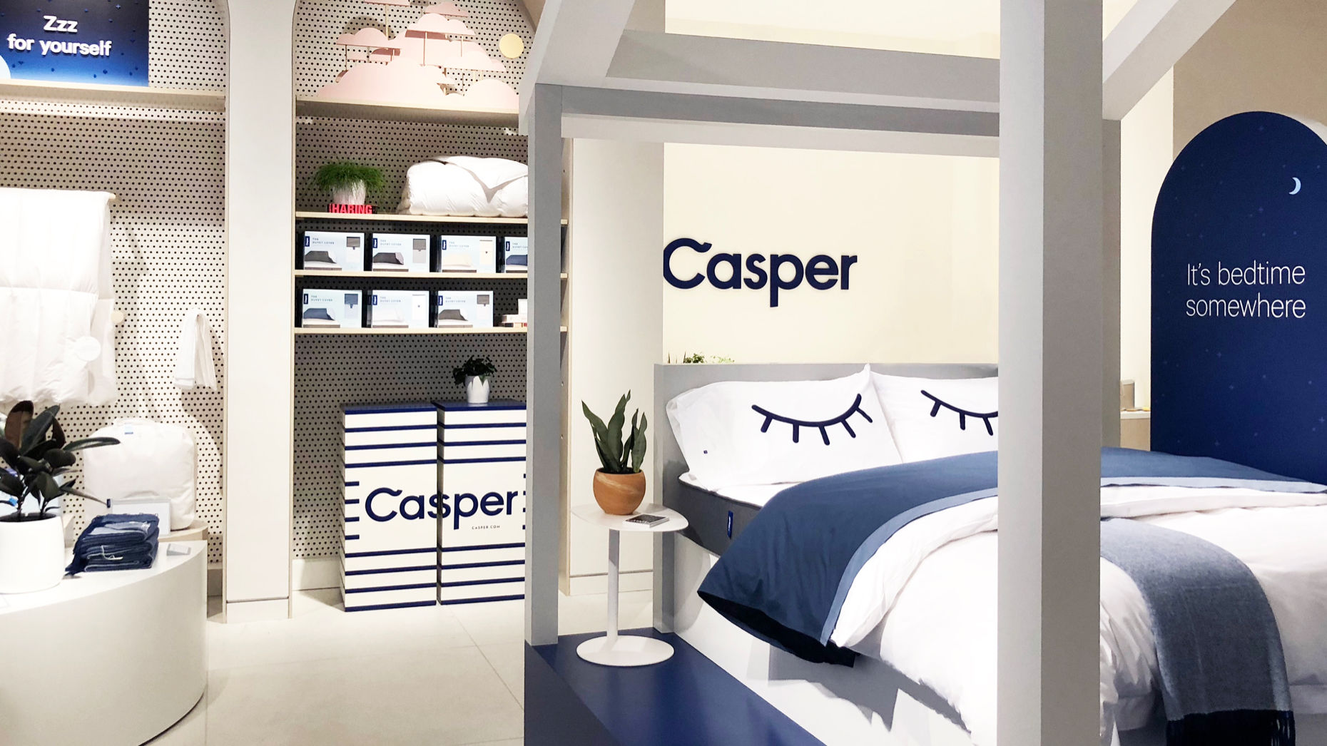 A Casper retail store. Photo by Casper