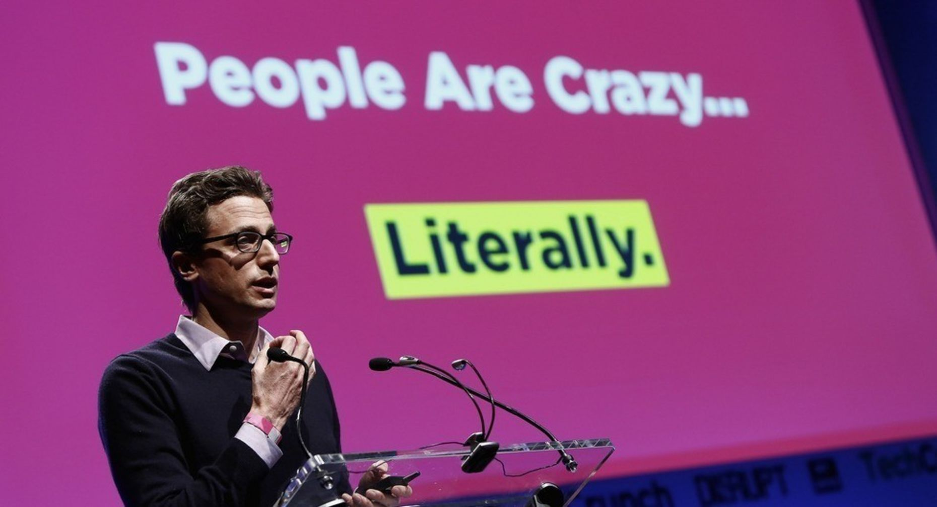 BuzzFeed CEO Jonah Peretti. Photo by TechCrunch.