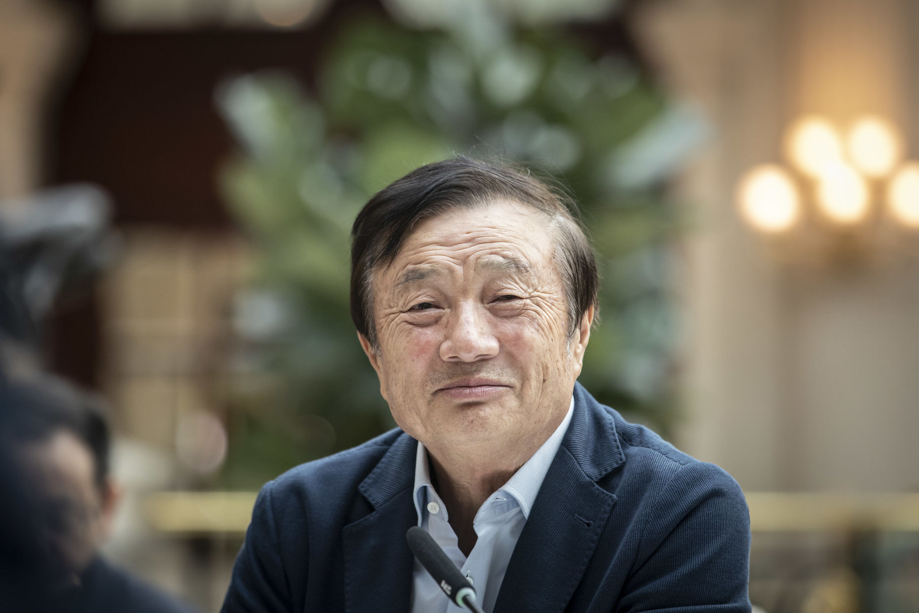 Ren Zhengfei, founder and chief executive officer of Huawei Technologies. Photo by Bloomberg.