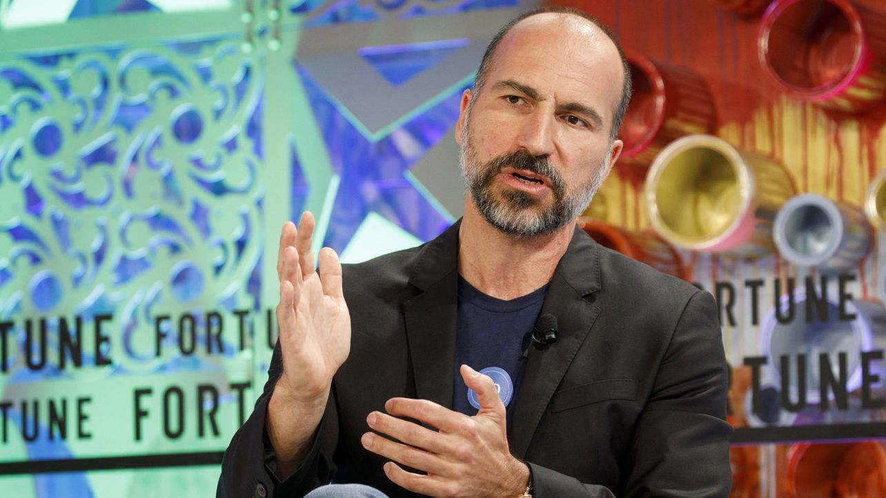 Uber's IPO Filing Shows Sharp Growth Slowdown for Ride Hailing